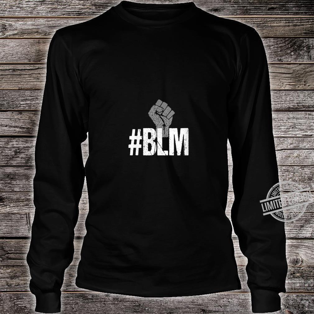 Womens #BLM Black Lives Matter Inspirational Protest Peace Vintage Shirt long sleeved