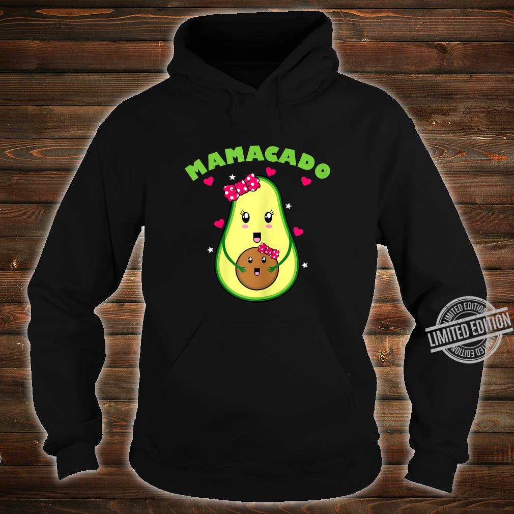 Womens Pregnancy Expectant Mom to be Mother Mamacado Shirt hoodie